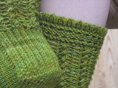 9fa0597b038 and turned my attention to a little sweater I d started while you weren t  looking. On a trip into Lettuce Knit last Wednesday Megan had all the yarn  to make ...
