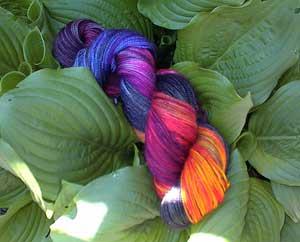 rainbow-sock