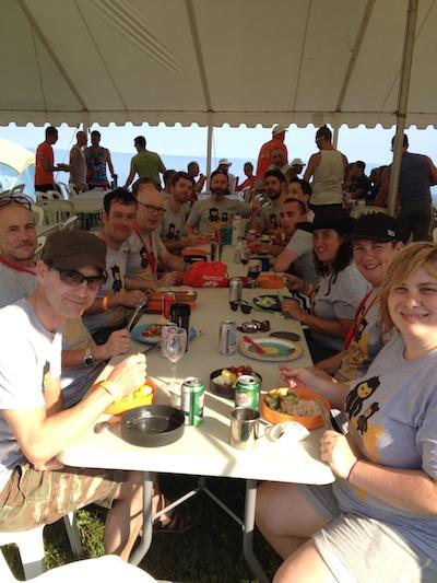 dinnerteam 2014-08-05